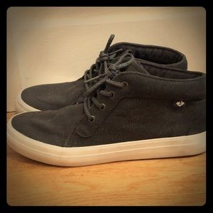 Sperry dark gray sneakers